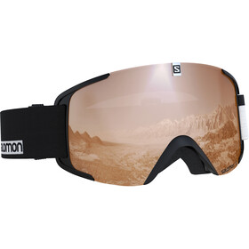 Salomon Xview Goggles black/white